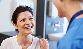 Image | Doctor Reassuring Patient